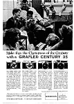 Click here to enlarge image and see more about item auc125909: Graflex Century 35 Camera Ad auc125909 Dec 1959