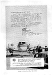 Click here to enlarge image and see more about item auc125910: Grumman Gulfstream Ad Dec 1959