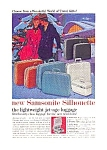 Click here to enlarge image and see more about item auc125917: Samsonite Silhouette Luggage Ad auc125917