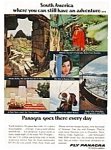 Click here to enlarge image and see more about item auc129: Panagra Ad auc129 Mar 1966
