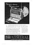 Admiral Shortwave Radio Ad Sep 1959