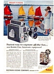 Click here to enlarge image and see more about item auc1413: Kodak Cine Automatic Equipment Ad auc1413