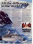 Princess Cruises Ad Alaska TransCanal