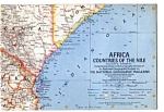 Click here to enlarge image and see more about item auc14a28: Africa ,Countries of the Nile Map Oct 1963