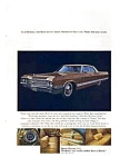 Click here to enlarge image and see more about item auc14a3: Buick Electra 225 Ad April 1965