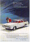Click here to enlarge image and see more about item auc14a6: 1965 Olds Vista-Cruiser Ad auc14a6