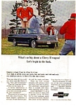 Chevy II Nova Station Wagon Ad April 1965