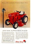 Click here to enlarge image and see more about item auc14a8: Wheel Horse Lawn Tractor Ad auc14a8