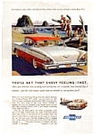 Click here to enlarge image and see more about item auc151: 1958 Chevrolet Ad