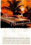 Click here to enlarge image and see more about item auc153: 1964 Pontiac Bonneville Convertable Ad auc153