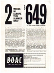 Click here to enlarge image and see more about item auc158: BOAC Ad Jan 1963