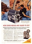 Click here to enlarge image and see more about item auc1618: Kodak Movie Camera and Projector Ad auc1618