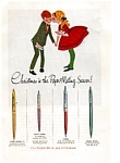 Click here to enlarge image and see more about item auc165: Papermate Pens Ad  auc1612 Dec1963