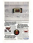 Click here to enlarge image and see more about item auc1715: Litton Microwave Oven Ad Feb 1983 Color