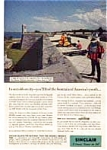 Click here to enlarge image and see more about item auc172: Sinclair Oil Company  Ad Castilio San Marcos auc172