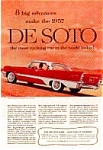 Click here to enlarge image and see more about item auc1810: 1957 Desoto Fireflyte Ad auc1810