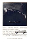 Click here to enlarge image and see more about item auc1818: Jeep Wagoneer Ad Mar 1964