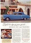 Click here to enlarge image and see more about item auc181: 1947 Studebaker Commander Advertisement auc181