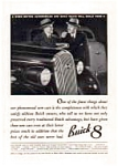 Click here to enlarge image and see more about item auc182: Buick 8 of the 1930s Ad
