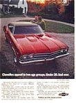 Chevrolet Chevelle SS 396 Sports Coupe Ad