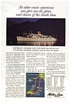 Matson Lines  South Seas Ad auc1927