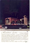 Click here to enlarge image and see more about item auc3128: 1962 Thunderbird Town Landau Ad auc3128
