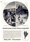 Click here to enlarge image and see more about item auc3129: Panagra Pan Am Airlines Ad auc3129 Dec 1961