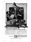 Click here to enlarge image and see more about item auc3222: Keystone Camera Christmas in Norway Ad auc3222