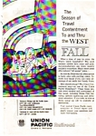Click here to enlarge image and see more about item auc324: Union Pacific Railroad Ad Oct 1961