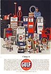 Click here to enlarge image and see more about item auc3311: Gulf Oil Products Ad Oct 1963