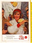 Click here to enlarge image and see more about item auc3313: Coca Cola Football Game Ad auc3313 Oct 1963