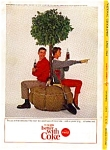 Click here to enlarge image and see more about item auc3322: Coca Cola Tree Planting Ad April 1964
