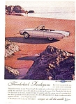 Click here to enlarge image and see more about item auc3337: 1962 Thunderbird Convertable Ad auc3337