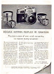 Click here to enlarge image and see more about item auc3338: Kodak Retina Reflex Camera Ad auc3338