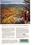 Click here to enlarge image and see more about item auc3339: Sinclair Oil Cumberland Gap  Ad