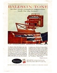 Baldwin Pianos Organs Color Ad Oct 1959