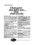 Click here to enlarge image and see more about item auc3357: Pfizer Healthcare Series Angina Ad