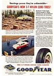 Click here to enlarge image and see more about item auc336: Goodyear 3-T Nylon Cord Tire  Ad