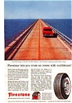 Click here to enlarge image and see more about item auc339: Firestone Tire Florida Keys Ad
