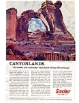 Click here to enlarge image and see more about item auc3411: Sinclair Oil Canyonlands Angel Arch Ad auc3411