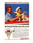 Click here to enlarge image and see more about item auc3415: Johnson Sea Horse Outboard Ad auc3415