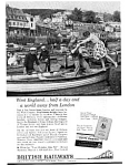 Click here to enlarge image and see more about item auc3420: British Railways West England Ad, Mar 1962