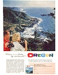 Oregon Travel Cape Peretua Ad auc3422 Mar 1962