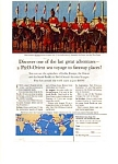 P & O Lines Sailings Schedule Ad 1967