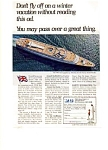 P and O Lines Liner Canberra Ad auc3427 1967