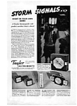 Click here to enlarge image and see more about item auc3435: Taylor Instruments Home Stormoguide Ad auc3435