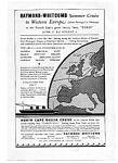 Click here to enlarge image and see more about item auc3442: Western Europe North Cape Cruise   Ad 1930s