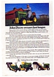 Click here to enlarge image and see more about item auc3519: John Deere Owners Last Longer Ad auc3519