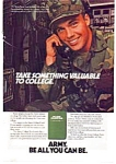 Click here to enlarge image and see more about item auc3522: US Army College Ad auc3522 Dec 1983
