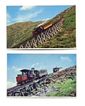 Cog Railway New Hampshire Postcards auc3531 Lot of 2